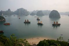 Halong Bay Day tours last from four to eight hours, though (recommended) overnighters are also available.