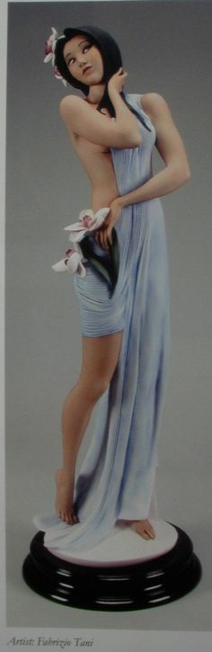 Armani Figurines Florence Collection | GIUSEPPE ARMANI IKEBANA GIRL 72cm TALL LTD EDITION MIB | eBay