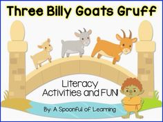 Three Billy Goats Gruff Activities!
