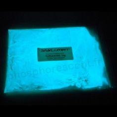Svítící pigmenty ve tmě, 30g, Tyrkysová