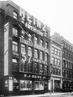 H.J. Heinz Company, London Branch House, 1903.