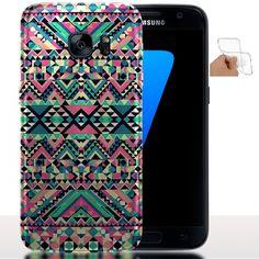 Dooki PU Cuir Pochette Portefeuille Supporter Flip Couverture Housse Coque Etui pour Samsung Galaxy S7 Edge avec Crédit Carte Tenant Fente O-1 Galaxy S7 Edge Coque