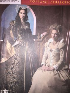 Simplicity 4508  Historical Tudor Renaissance  Costume Gown Sewing Pattern 8-14  #Simplicity