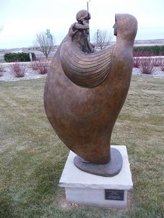 Sculpture at Loveland's Visitors Center, Loveland, Colorado
