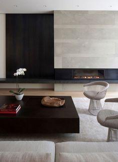 : Ate Kastel, Living Rooms, Concrete Fireplaces, Kastel Buffey, Interiors Design, Atelier Kastel, Fire Places, Stones House, Stone Houses