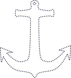 e result for Free Printable String Art Patterns Heart Anchor Clip Art, Anchor String Art, Nail String Art, Anchor Outline, Art Clip, String Art Templates, String Art Patterns, Paper Embroidery, Learn Embroidery
