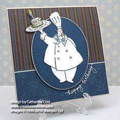 Voila birthday card