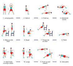 7-minutowy zestaw ćwiczeń
