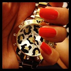 If I wore watches...guess women watches watches women leather Baume & Mercier  Blancpain Concord watches Dior watch