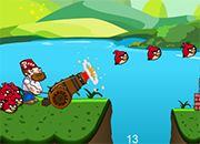 Crazy Dave Angry Birds vs Zombies