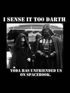 funny <<< The emperor was scary, but I love how they make him funny in memes. #StarWars #Inagalaxyfarfaraway