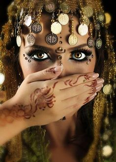 Bailarina arabe