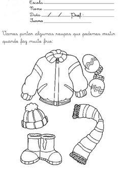 atividades de inverno para educação infantil - Pesquisa Google