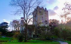 Blarney Castle - Kissing Royal Butt in Ireland