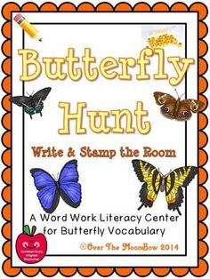 This engaging, butterfly themed activity pack will help your students practice reading, writing, & learn butterfly species vocabulary; a perfect complement to your seasonal activities!