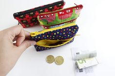 Zipper Bags, Crochet Accessories, Diy Gifts, Coin Purse, Boss, Wallet, Sewing, Crafts, Pouches