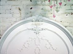 Painted Cottage Chic Shabby White Queen Romance by paintedcottages