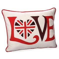 Jovi Home Retro 'Love' Throw Pillow | Overstock™ Shopping - Great Deals on Jovi Home Throw Pillows