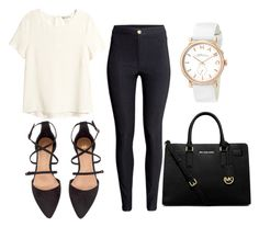 """""""day by day"""" by diianasilva ❤ liked on Polyvore featuring H&M, MICHAEL Michael Kors and Marc by Marc Jacobs"""