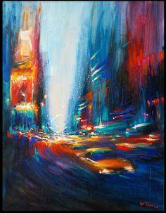 Van Tame: artiste peintre lyonnais, ses peintures et aquarelles