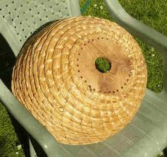 Making bee skeps. Covers several methods, with several tool and material options.
