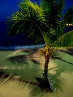 Nighttime on Marigot Bay, St. Martin 2012