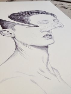 Four Stars (drawing) by Henrietta Harris, via Behance
