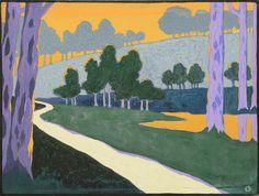 Charles Guilloux Crépuscule [Evening] 1892, Oil on canvas H. 32; W. 46 cm, Grand Palais (Musée d'Orsay) / Hervé Lewandowski