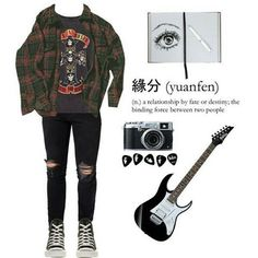 #grunge #indie #urban #rock #punk #alternative #style -A (Fashion Edgy Indie)