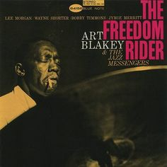 Art Blakey for Blue Note. Cover design Reid Miles, photo by Francis Wolff