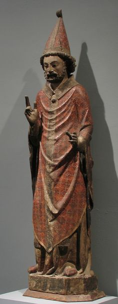 Saint Peter as the First Pope  Date:     before 1348 Geography:     Made in present-day Spain Culture:     Catalan