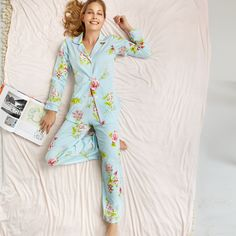 Bedhead Pajamas Classic Stretch New York Botanical Aqua Lingerie Editorial, Bedhead Pajamas, Layla Grayce, Bed Head, Dress Me Up, Pjs, Passion For Fashion, Style Me, Girly