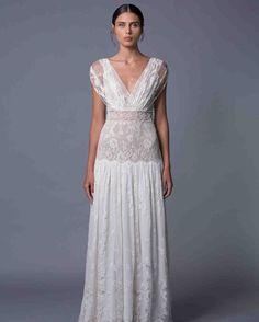 Lihi Hod Fall 2017 Wedding Dress Collection   Martha Stewart Weddings – Sleeveless A-line wedding dress