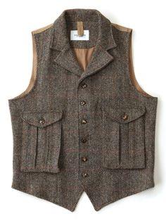 Harris Tweed Vest // Eastlogue // [Look No.8 _ 2. : 네이버 블로그]