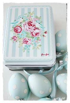 Sommerhusliv all year : GreenGate Easter eggs