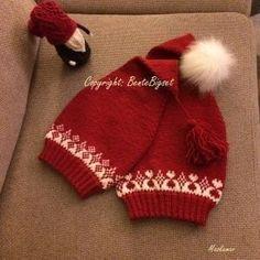 Crochet Baby, Knit Crochet, Holiday Hats, Christmas Knitting, Santa Hat, Winter Hats, Women's Fashion, How To Make, Gifts
