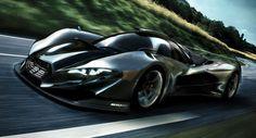 Designer Dreams Up Mercedes-Benz SL GTR Concept with a Nissan V8 Heart - Carscoops
