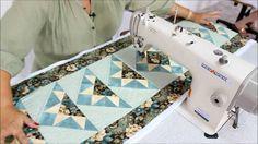 Patchwork Sem Segredos(Ana Cosentino): Aula 13 (03/03/2013) - Quilt em Máquinas Industriais
