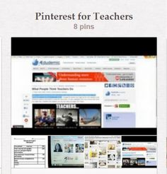 "Pinterest for Teachers, Pinerly - the ""Pinterest Friendly Dashboard,"" and How Pinterest is being used for Education"