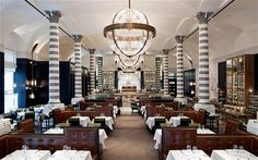Massimo Restaurant by David Collins, Corinthia Hotel London