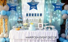 """Photo 10 of 12: Baby Shower/Sip & See """"We Love You To the Moon and Back """" 