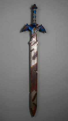 Breath Of The Wild Master Sword. If this is what the sword will look like in the game, it shouldn't be to hard to figure out its placement in the time line.>>>> okay, it's definitely at the end of the fallen timeline. I have SO MUCH evidence. The Legend Of Zelda, Legend Of Zelda Breath, Master Sword, Nintendo, Zelda Tattoo, Link Cosplay, Link Zelda, Wind Waker, Twilight Princess