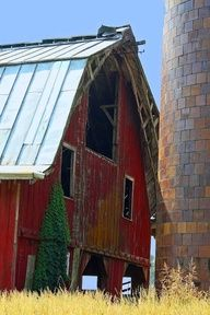There is something about red barns...