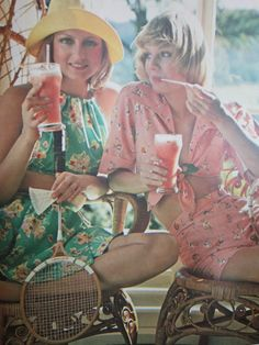 Butterick pattern fashions for summer 1973