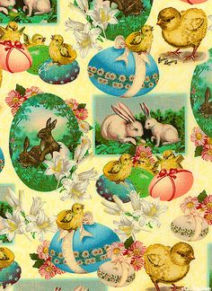 Vintage hallmark easter gift wrap wrapping paper pastel easter vintage hallmark easter gift wrap wrapping paper pastel easter eggs 1960s pinterest easter wraps and vintage wrapping paper negle Choice Image