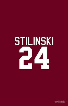 24 Stilinski , Lacrose number