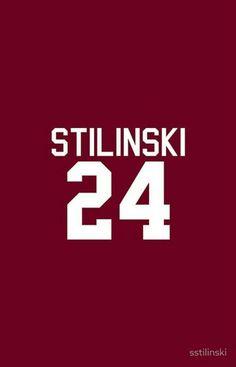 24 Stilinski , Lacrose number