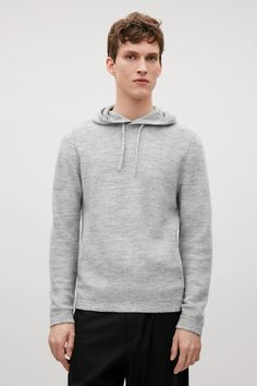 COS | Knitted hood jumper