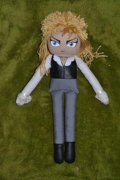 Custom OOAK Labyrinth Jareth the Goblin King Plush David Bowie Doll