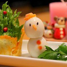 """改良の余地あり(-""""-;) - 93件のもぐもぐ - 試作のクリスマス前菜 by chibimega"""